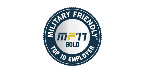 Military Friendly Top Employer seal